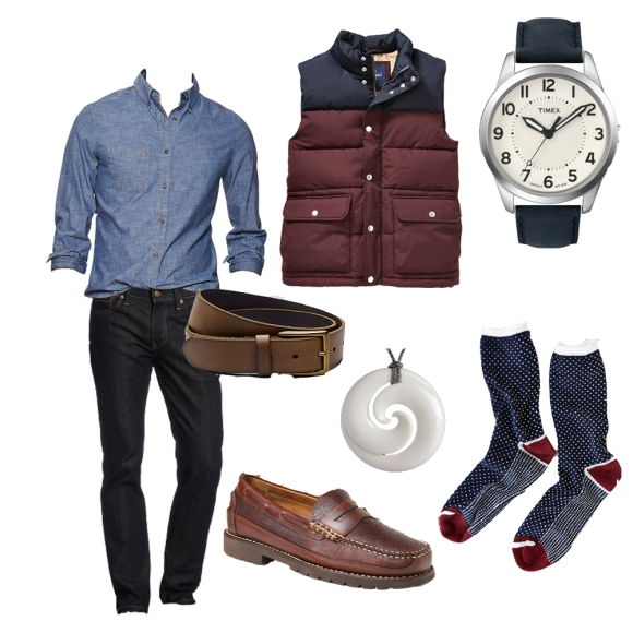 mens style for drinks or going out