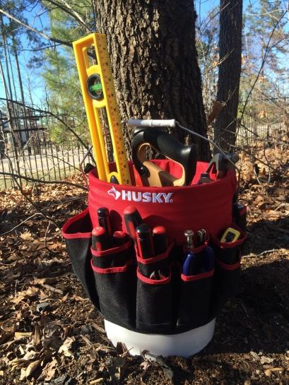 Husky Bucket Jockey 5-gallon tool organizer