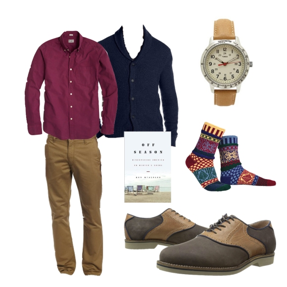 Mens Winter Brunch outfit Style collage