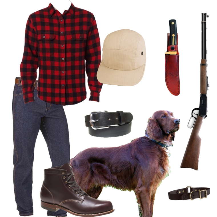 Butch hunting clothes, hunting outfit