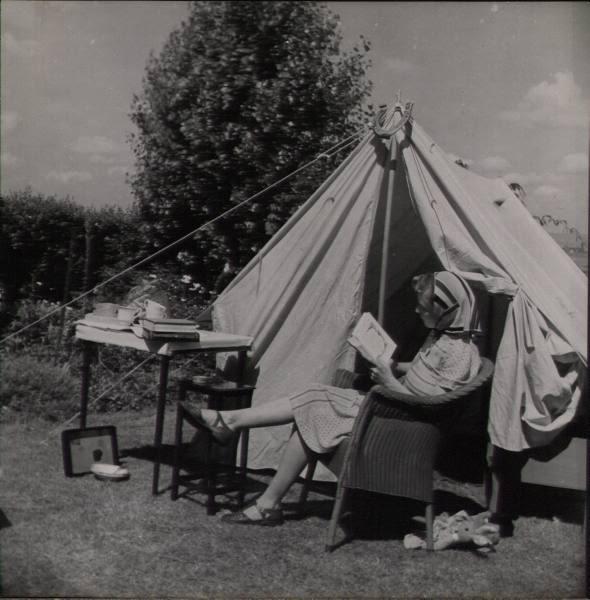 glamping 1950s