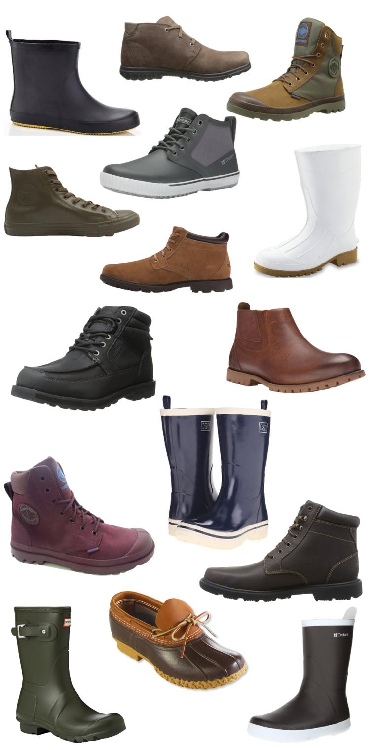 Fall Rain Boots