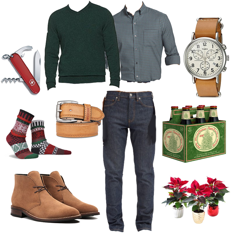 Men's Style Holiday Party