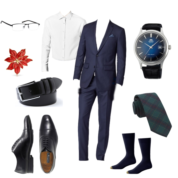 Holiday Outfits - Formal Business 1 - 2017