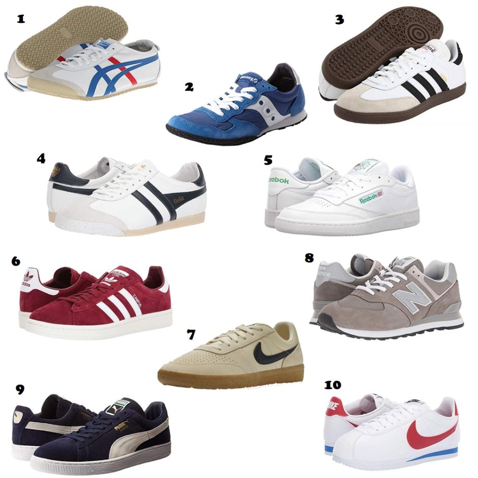 mens classic sneakers