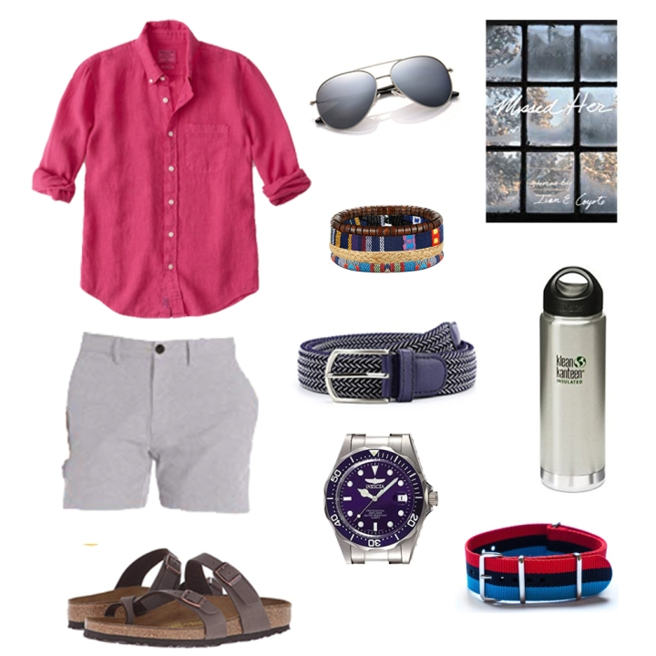 Summer butch style, men's summer style