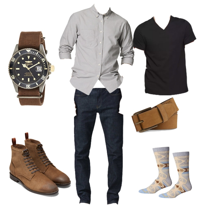 Rugged Casual Style Outfit